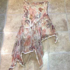 3 for $15* Vintage Strapless Beaded Dress